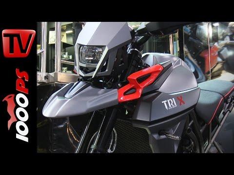 Triumph Tiger 800 TRI-X Supermoto Umbau