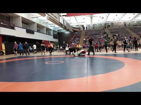 2016 Dino Invitational: 57 kg Brendan McKeage vs. Zachary Bieber