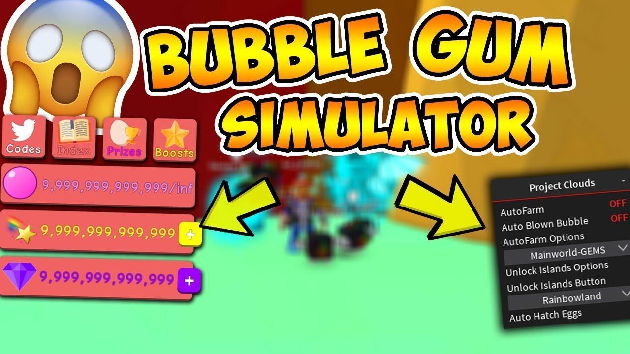 New Bubble Gum Simulator Hack Script Updated Gui As