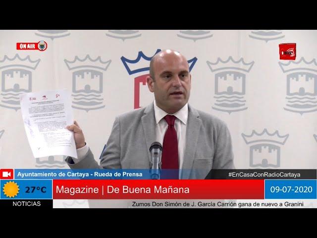 Radio Cartaya | El alcalde de Cartaya informa del futuro gobierno municipal