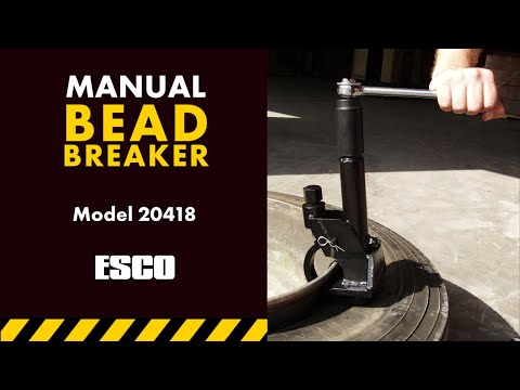 Manual Tire Bead Breaker [Model 70160]