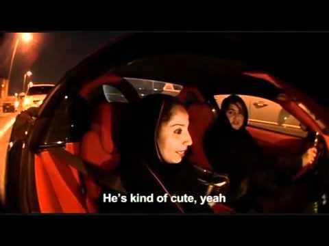 Dubai Girls Driving Ferrari - U.A.E (Women in Black)