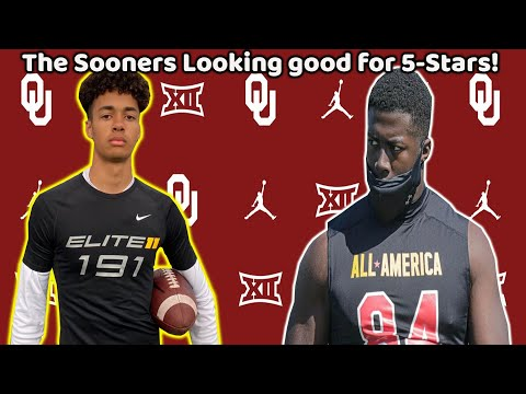 Oklahoma Sooners Recruiting! | OU favored to land TALENTED 5⭐ '23 QB + Gabriel Brownlow-Dindy News!!
