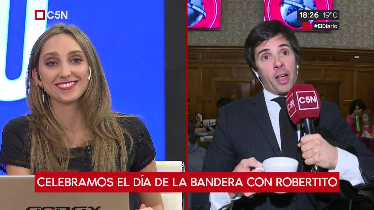 Celebramos el Día de la Bandera con Roberto Funes