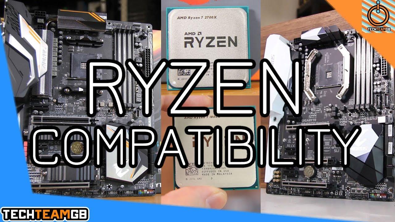 Ryzen Compatibility 2700x On X370 1800x On X470 Youtube