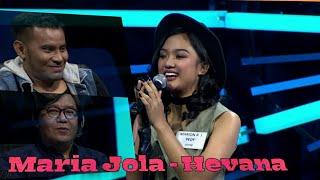 Suara memukau Marion Jola -  Hevana + senyuman manis indonesia idol
