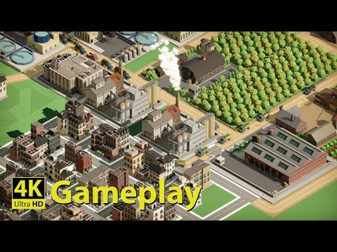 Rise of Industry - 4K GAMEPLAY [Complex City-Builder]