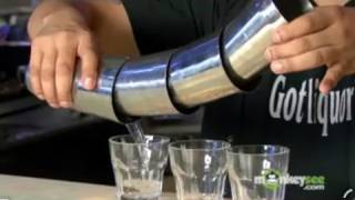 Flair Bartending - Shot Pouring Technique