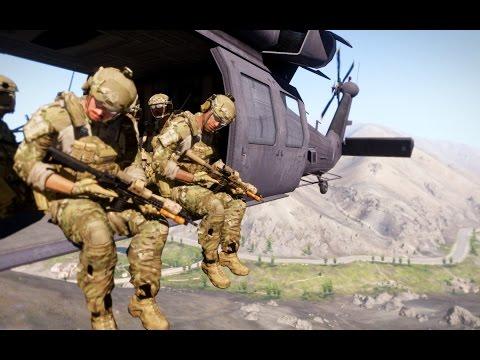 """QRF"" - U.S. Army 82nd Airborne/75th Ranger Regiment (Arma 3 Machinima)"