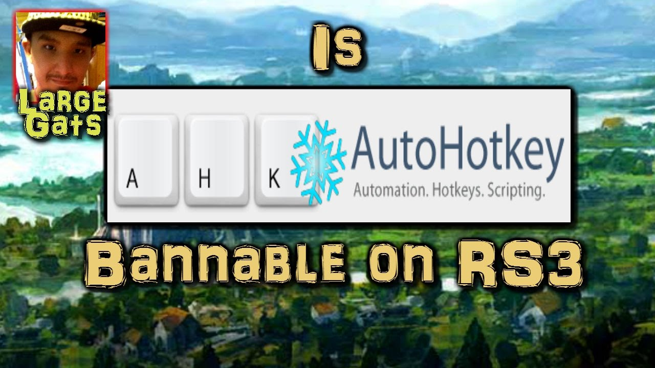Is AutoHotKey (AHK) bannable in RS3?