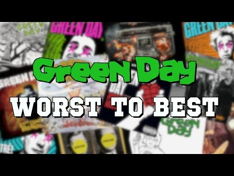 Green Day Albums Ranked WORST TO BEST
