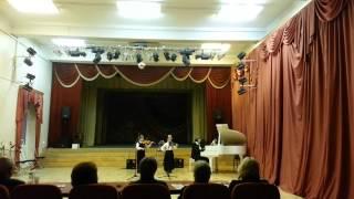 Сурок ( Бетховен), Аллегретто (Моцарт) скрипка с аккомпонементом.