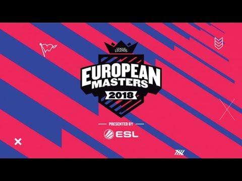 LoL - MAD Lions E.C vs. Kliktech - Partido 1 - Cuartos - European Masters 2018