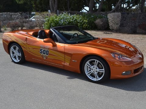 SOLD 2007 Corvette Indy 500 Pace Car Convertible for sale by Corvette Mike