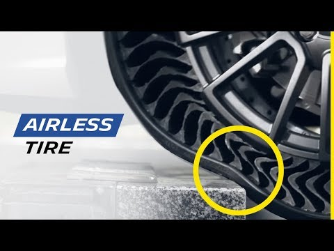 Joey Dee - Airless Tires? Where were these when I needed them this week?