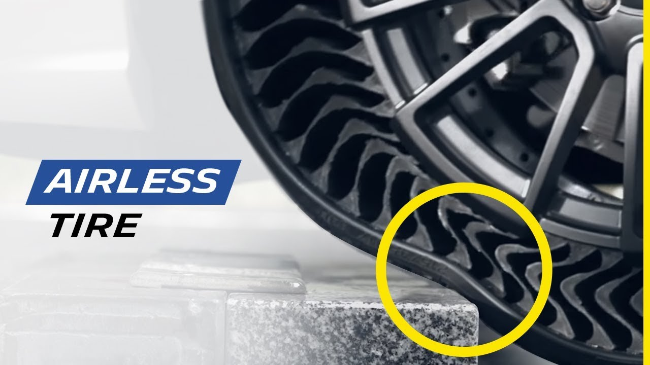 New generation of airless tire | Michelin - YouTube