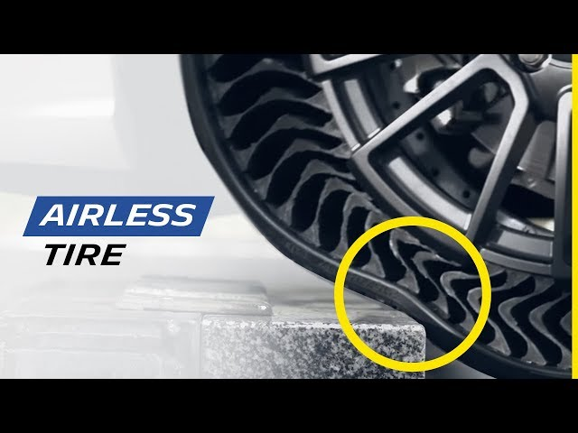 Change Your Tires! Airless Tires From Michelin, Quieter