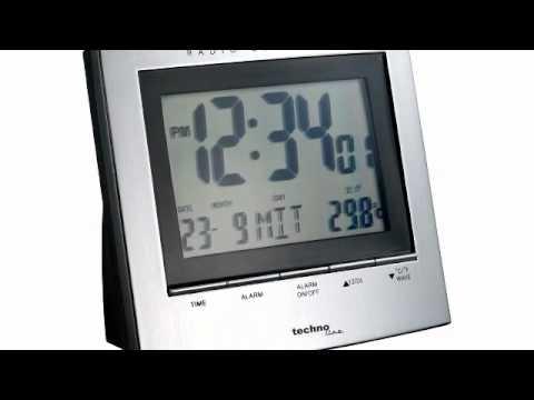Radio Controlled Uhr Bedienungsanleitung : technoline wt 280 funk wecker youtube ~ Watch28wear.com Haus und Dekorationen