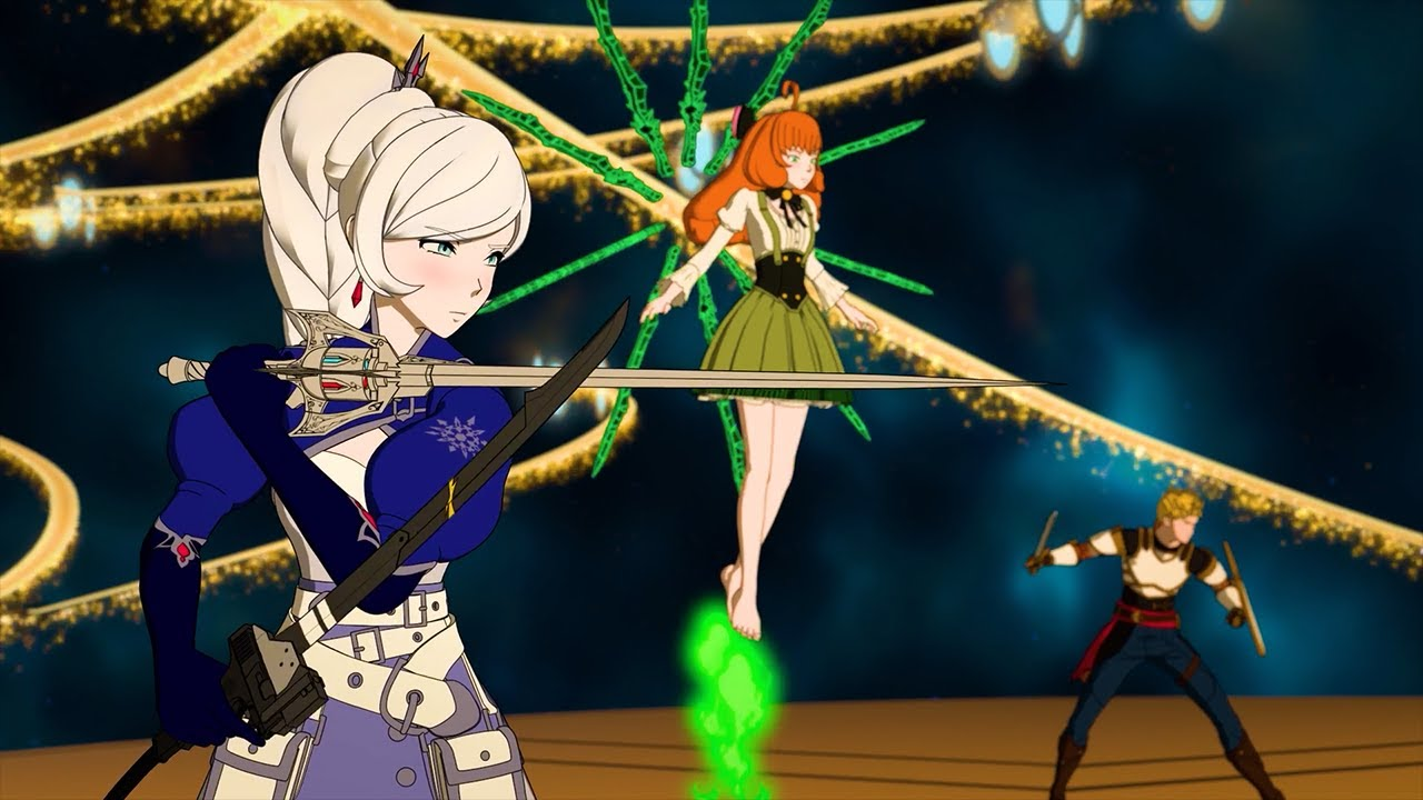 Download RWBY: Team RWBY, Penny, Jaune and Winter vs Cinder and Neo [60FPS Test]