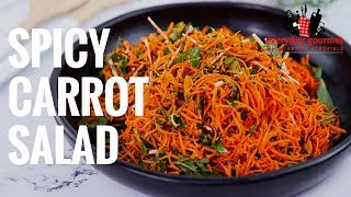 Spicy Carrot Salad   Eveŗyday Gourmet S8 E27