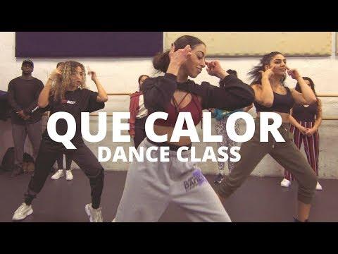 QUE CALOR - Major Lazer Ft. J Blavin, El Alfa   Dance Choreography
