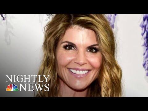 Lori Loughlin Surrenders To FBI In College Cheating Scandal | NBC Nightly News