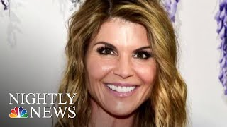 Lori Loughlin Surrenders To FBI In College Cheating Scandal | NBC Nightly News