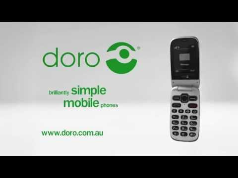 Doro PhoneEasy 623 - Available from Optus nationwide