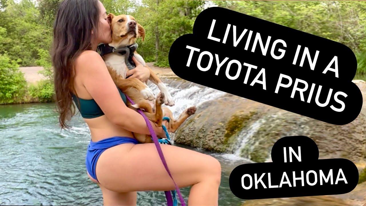Living in a car: Oklahoma hidden gems! - Solo female full time prius camper