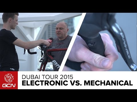 Electronic Vs. Mechanical Groupsets | Dubai Tour 2015