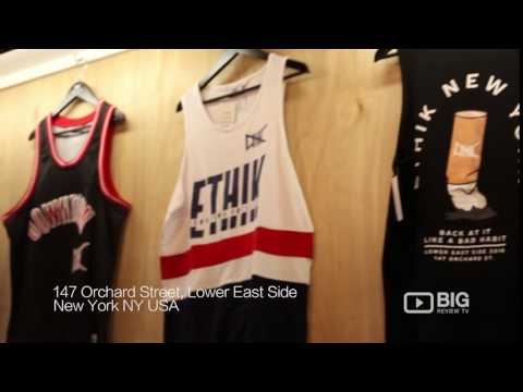 Ethik Clothing Co Store in New York NY for Headwear and Skate Clothing