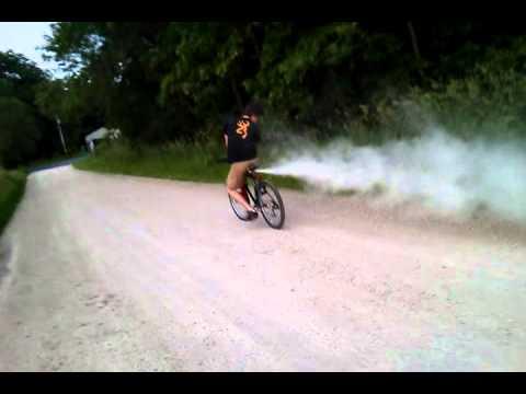Rocket Propelled Fire Extinguisher Bike