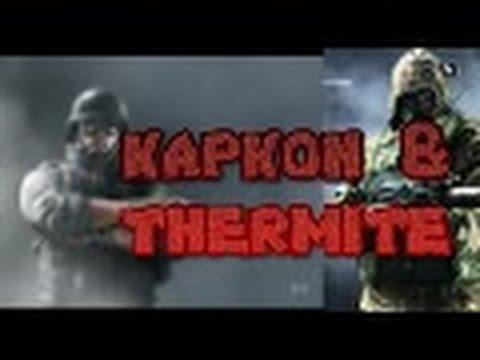 rainbow six siege kapkon thermite multiplayer action new. Black Bedroom Furniture Sets. Home Design Ideas