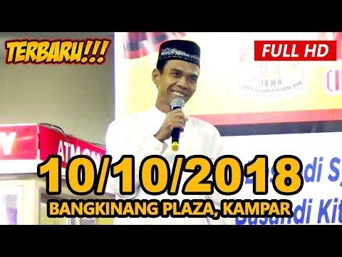 Ceramah Terbaru Ustadz Abdul Somad Lc, MA - Plaza Bangkinang, Kampar