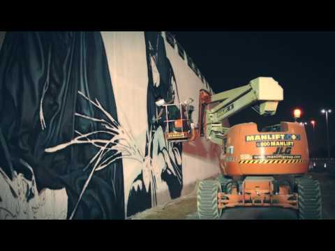 Watch the new Channel Road Mural Unfold - Developed by Aldar
