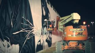 Watch the new Channel Road Mural Unfold - Developed by Aldar