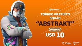 "FORTNITE TORNEO ""ABSTRAKT"" GRATUIT USD 10 AWARD! 'SAMEDI 19:30 (ARG) GTM-3"