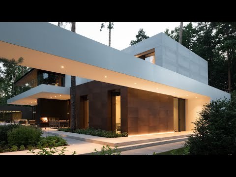 Amazing Houses: Villa Zhukovka in Moscow, Russia designed by Fedorova Architects