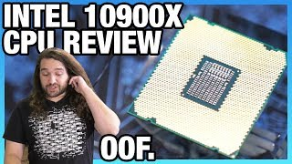 Dead On Arrival: Intel i9-10900X CPU Review & Benchmarks vs. 3900X, 3950X, 9900K