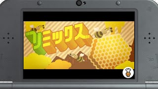 Gameplay for the Bee Remix from Rhythm Tengoku: The Best Plus on th...