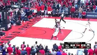 Kawhi Leonard CRAZY Dunk On Giannis, Drake HILARIOUS Reaction - Game 6 | May 25, 2019 NBA Playoffs!