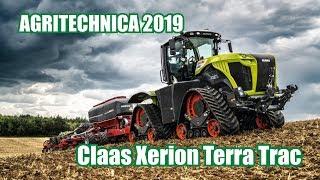 Claas Xerion Terra Trac i nowe maszyny na targach Agritechnica