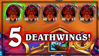 5 Deathwings ~ The Boomsday Project ~ Hearthstone