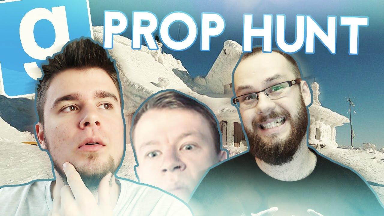 ZIMOWY DOMEK! | Garry's mod (With: Paveł, Plaga, Admiros) #430 – Prop Hunt (#90)