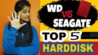 Top 5 Hard disk || Best External Hard disk under 1TB || Sneh Tech || In hindi