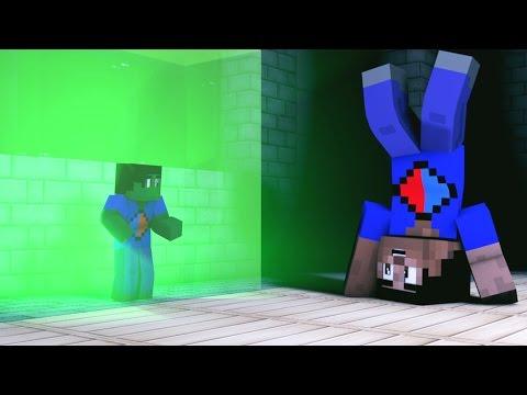 Minecraft Animated Short #9 - DUELING MINI VIKKSTAR (How To Minecraft Animation)