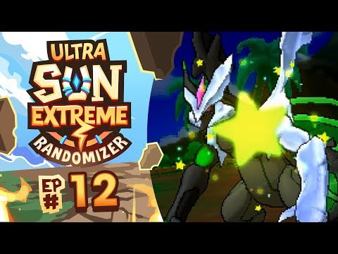 IS THAT A SHINY?! - Pokémon Ultra Sun Extreme Randomizer Nuzlocke w/ Supra! Episode #12
