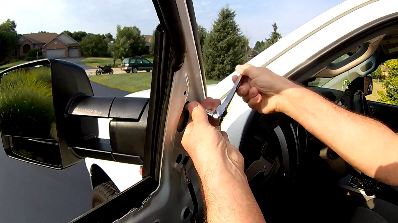 For 07-13 Tundra Pickup Truck SR5 Power Heat Manual Fold Mirror Right Passenger