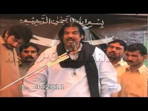 1/4/2011 - Zakir Syed Ghulam Abbas Kazmi of Shadiwal, Pakistan - Gujrat, Pakistan
