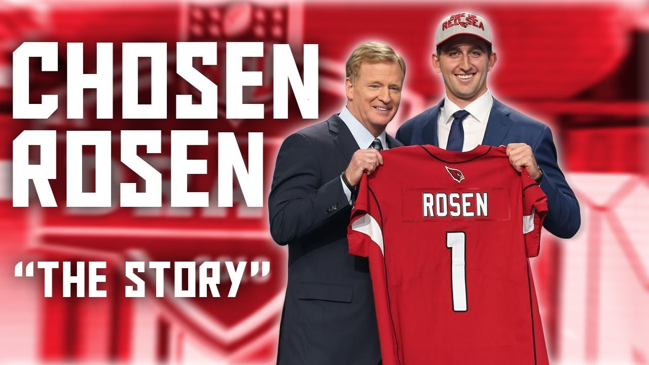 Josh Rosen || Chosen Rosen || Ultimate Highlights & Draft Story